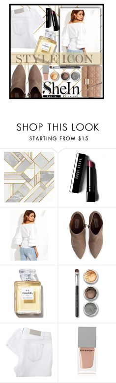 """◇NUDE and WHITE◇"" by tamsy13 ❤ liked on Polyvore featuring Bobbi Brown Cosmetics, Valentino, Bare Escentuals, Victoria Beckham, Givenchy, Christian Dior and shein"