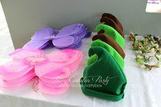 Razzle Dazzle Party Box: Themed Birthday Party: Fairy Garden Party  Boy hat idea