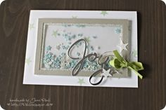 Aug 26 2014 Stampin' Up! Christmas in August Wonderful Wreath Framelits Dies shaker frame window