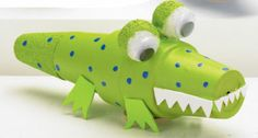 Clay Pot Critter-Alligator