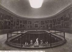 J. Laurent y Cia. Vista de la Sala de la Reina Isabel, del Museo del Prado, Museo Nacional del Prado