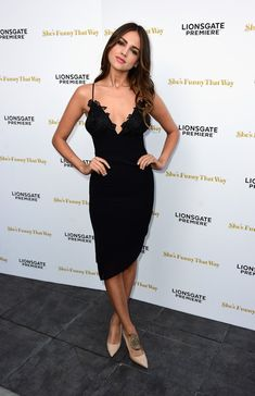 """Actress Eiza Gonzalez arrives at the Premiere Of Lionsgate Premiere's """"She's Funny That Way"""" at Harmony Gold on August 19, 2015 in Los Angeles, California."""