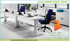 Muebles de oficina operativos serie Euro 3000 y 4000