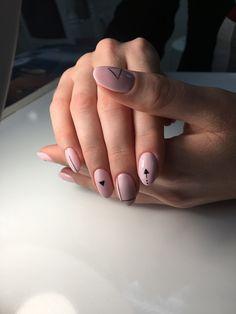 Маникюр графика #nails #nails2018 #весна2018