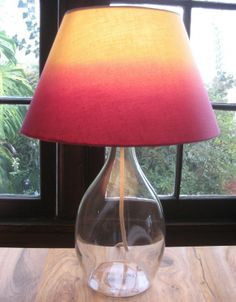 Ombre Lampshade - Light Up Your Life With DIY Lamps