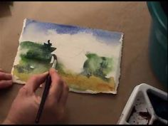 step by step watercolor painting for beginners