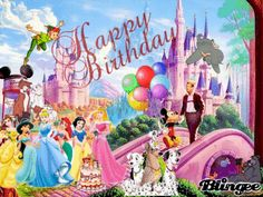 disney princess happy birthday happy birthday disney happy birthday ...