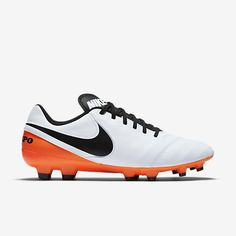 superior agility and touch the nike tiempo genio ii leather mens firm ground soccer cleat