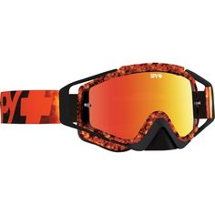 Spy Omen Flare Smoke Red Spectra Goggles at MXstore