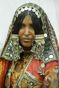 Bijapur, India Decked Out Woman