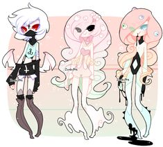 Spoopy Halloween Adopts! CLOSED by Zombutts on DeviantArt