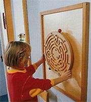 Wall Panels and Wall Activities - Small Motor Skill Wall Panels and Colorful Decorative Components That Can Turn Any Wall into an Instant Play Area - Great for Lobby, Waiting Rooms or Arcade Area Sensory Wall, Sensory Rooms, Sensory Boards, Toddler Play Area, Daycare Rooms, Infant Classroom, Sensory Bottles, Preschool Lesson Plans, Baby Art