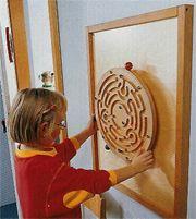 Spinning wheel for E's sensory wall??