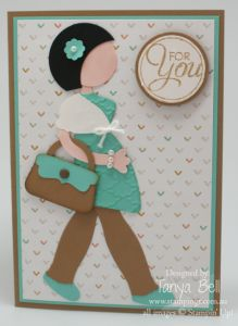 stampin up punch art baby | Stampin' Up! Stamping T! - Pregnant Punch Art