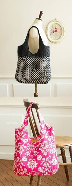 Download #29 Nevena Bag PDF Pattern immediately at Makerist