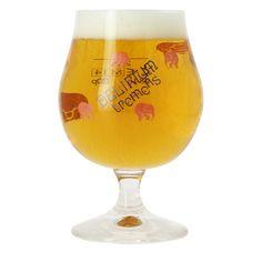 Verre à bière Delirium Tremens 25cl - Bière belge Elephant Roses, delirium