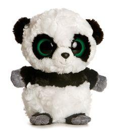 Stuffed Safari: YooHoo And Friends Plush Panda By Aurora