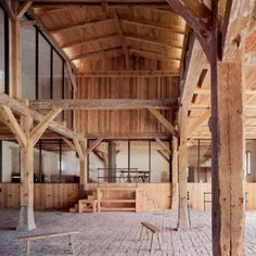 Thomas Kroeger creates a holiday home  inside an old German cowshed