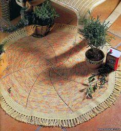 alfombra tejida Provence