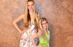 Sierra and Sienna, 15, are the only known identical twins where one twin is a primordial dwarf.