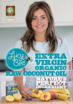 Extra Virgin, Raw and Organic Coconut Oil | Lucy Bee Coconut Oil