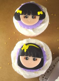 : How to Make Cupcake Faces