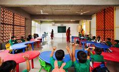 Escola e Jardim de Infância DPS,© Shamanth Patil