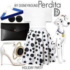 Perdita from 101 Dalmatians #disney #disneybound #disneystyle #disneyfashion