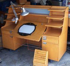 Animation desk pro ! Art Studio Design, Art Studio At Home, Home Furniture, Furniture Design, Drawing Desk, Art Studio Organization, Art Desk, Home Office Design, Room Decor