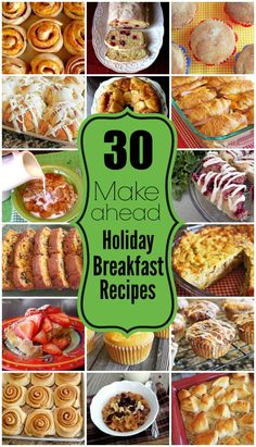 Breakfast Appetizers, Holiday Appetizers, Breakfast Dishes, Holiday Recipes, Breakfast Recipes, Christmas Recipes, Make Ahead Brunch Recipes, Thanksgiving Appetizers, Holiday Meals