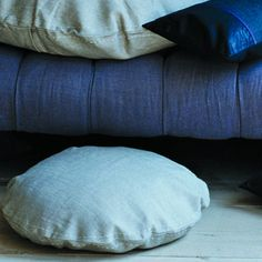 Round Pillows  http://shop.canvashomestore.com/products/round-pillows#