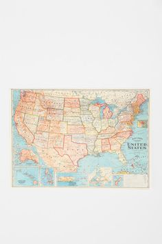 USA Map Poster http://www.urbanoutfitters.com/urban/catalog/category.jsp?id=A_FURN_WALL