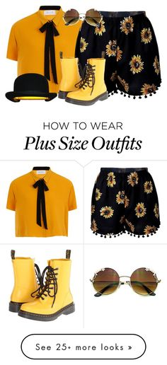 """Outfit"" by seven-skelton on Polyvore featuring Elvi, Dr. Martens and Innermost"