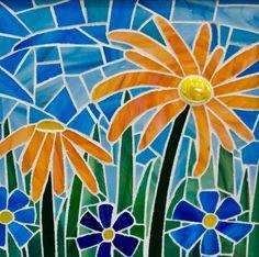 Sweet Little Flowers - Delphi Stained Glass
