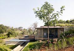 architecture brio completes the riparian house near mumbai