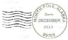 2013 North Pole postmark cancellation (saving as do one each yr- Perfect for Elf on the shelf arrival via mail or for Christmas cards or letters from Santa. Christmas Love, Winter Christmas, Christmas Cards, Christmas Ideas, Christmas Letters, Christmas Goodies, Holiday Cards, Christmas Scrapbook, Christmas Mugs