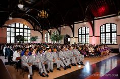 Wedding Ceremony At McBryde Hall