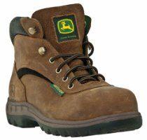 """Women's John Deere 5"""" Steel Toe WP EH Hiking Boots"""