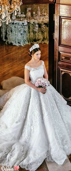 Michael Cinco ball gown ~ Debbie ❤