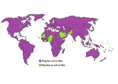 Bhutan, Cyprus, Jamaica, Flags, Countries, Ireland, Diagram, Map, World