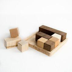 Block Puzzle Toy by LittleSaplingToys on Etsy