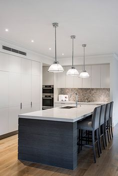 kitchen interior design images. Bridgeman Downs Residence by Highgate House  InteriorDesign Decor MidCentury LightingFor more 18 kitchens that have perfected minimalism Famous interior