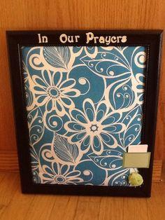DIY Prayer Board   Mormon Mommy Blogs SUPER SATURDAY IDEA???