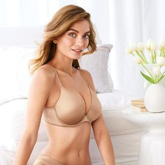 Bali® Passion for Comfort® Pure Comfort™ Straps Foam Underwire (6547) | Avon
