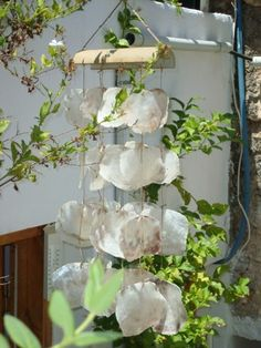 Shell Wind Chimes♥Sea Shell chimes by ThalassaCrete on Etsy