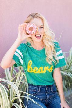 Bears Fresh Script Jersey Tee
