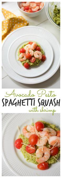 Avocado Pesto Spaghe