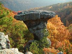 Pedestal Rocks/Kings Bluff, AR.   click for directions