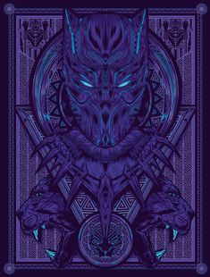 — Black Panther poster by Griffin Design