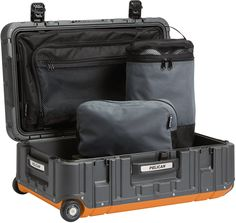 pelican peli products EL22 usa made carry on travel suitcase luggage
